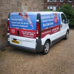 Silicone and Grout Van