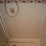Shower Cubicle with New Sealant